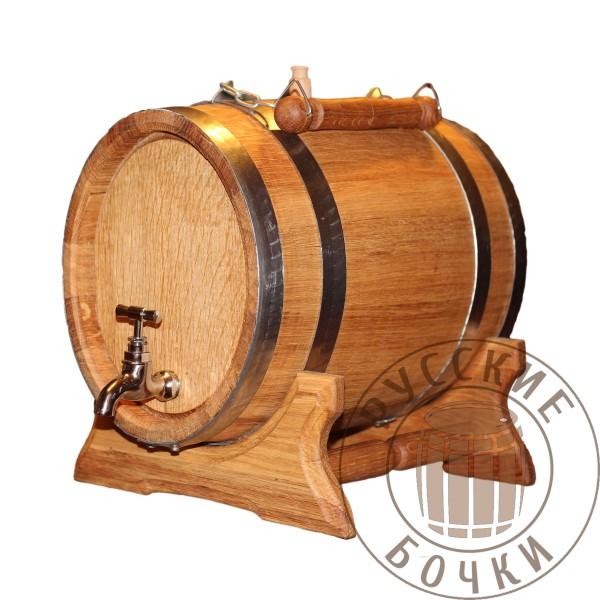 Анкер дубовый 5 литров (овальный бочонок)