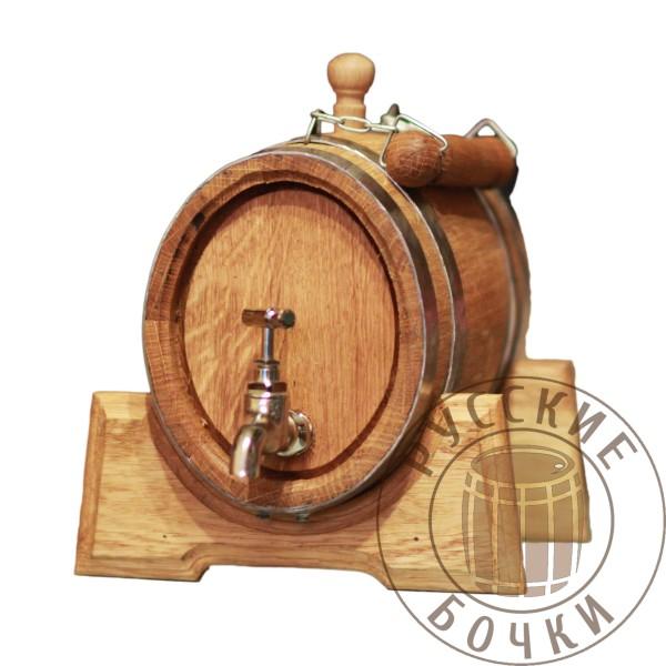 Анкер дубовый 3 литра (овальный бочонок)
