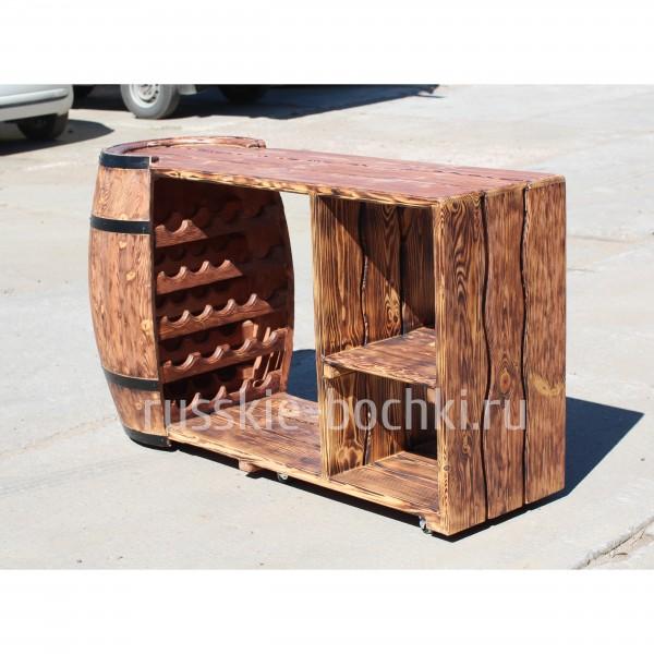 Стол барная стойка из дерева