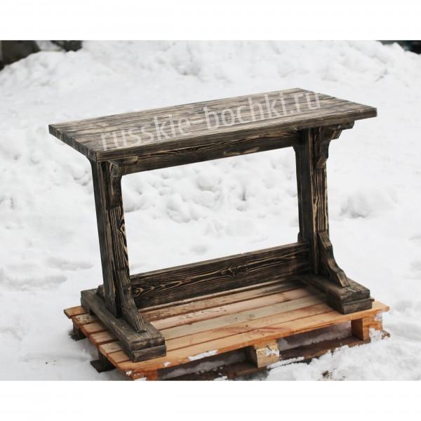 Стол обеденный из массива дерева ручной работы